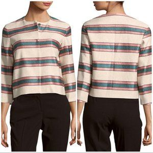 Max Mara Weekend Burano Striped Jacket 6